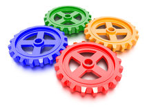 Set Of Gears Stock Image