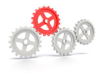 Set Of Gears Stock Images