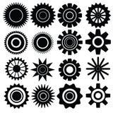 Set of gears Stock Photo