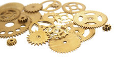 A set of gears Stock Image