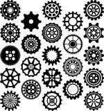 Set of gears Royalty Free Stock Photo