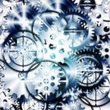 Set of gears wheels Stock Photo