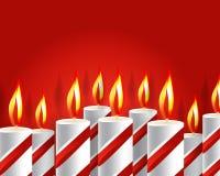 Set Geburtstag-Grußkarten Lizenzfreies Stockfoto