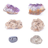 Set of gems Stock Photos