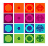 Set of generic buttons Royalty Free Stock Photo