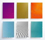 Set of Geometric Abstract Background vector illustration