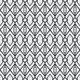 A Set geometric of black and white seamless. Vector format seamless pattern new style. Modern abstract textures stock illustration