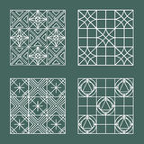 Set of geometric hipster shapes 447 Royalty Free Stock Photos