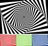 Set of  geometric pattern Royalty Free Stock Photography