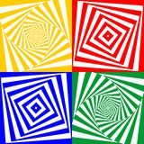 Set of  geometric pattern Royalty Free Stock Photos