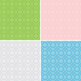 Set of vector geometric patterns for background Royalty Free Stock Image