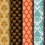 Set Geometric patterns Royalty Free Stock Photos