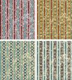 Set of geometrical patterns Stock Image
