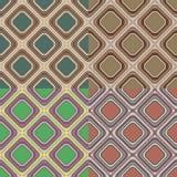 Set geometrische nahtlose Muster Stockfotografie