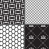 Set geometry seamless pattern. Vector illustration/ EPS 8. Set geometry seamless pattern. Each sample is in a separate layer. Easy to use. Vector illustration/ vector illustration