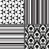 Set geometry seamless pattern. Vector illustration/ EPS 8 Royalty Free Stock Photography