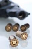 Set Gewehrkugeln Lizenzfreie Stockfotos