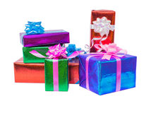 set of gift box isolated Royalty Free Stock Photography