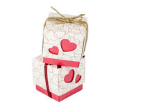 Set of gift box isolated Royalty Free Stock Image