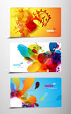 Set of gift cards. Royalty Free Stock Image
