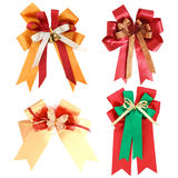 Set of gift ribbon and bow Isolated Royalty Free Stock Image