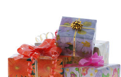 Set gifts Royalty Free Stock Images