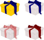 Set of gifts Stock Images