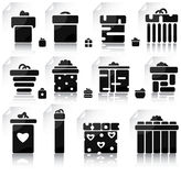 Set of gifts and elements for design Royalty Free Stock Photo