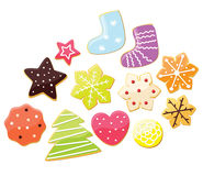 Set of gingerbread Stock Images