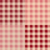 Set of 4 gingham vichy patterns for picnic blanket or tablecloth design. Set of gingham vichy patterns for picnic blanket or tablecloth design royalty free illustration