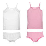 Set of girl's underwear Royalty Free Stock Photos
