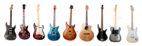 Set gitary elektryczne Obrazy Stock