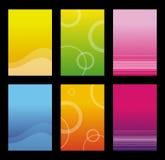 Set glänzender Hintergrund Lizenzfreie Stockfotografie