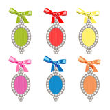 Set of  glamorous charms Stock Image
