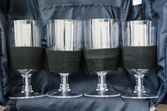 Set of glass jar Royalty Free Stock Image