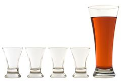 Set of glasses 02 Royalty Free Stock Image