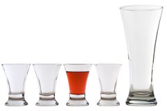 Set of glasses 03 Stock Images