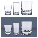 Set of glasses Stock Images