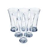 Set of glasses Royalty Free Stock Image