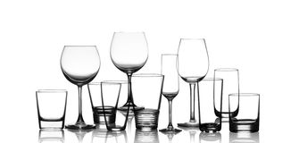 Set of glasses Stock Image