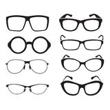 Set of glasses Royalty Free Stock Image
