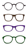 Set of glasses Royalty Free Stock Photo