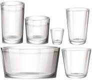 Set of glasses Stock Image