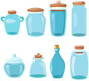 Set of glassware Royalty Free Stock Image