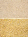 Set of gold and beige sands background Royalty Free Stock Photography