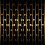 Set 8 gold carbon fiber mesh on black metal plate. Set 8. gold carbon fiber mesh on black metal plate. background and texture. 3d illustration Stock Photos