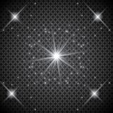 Set of golden glowing lights effects isolated on transparent background. Sun flash with rays and spotlight. Glow light effect. Sta. R burst with sparkles Royalty Free Stock Photos
