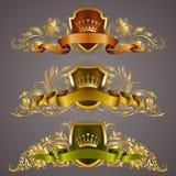 Monogram Logos Set Royalty Free Stock Photos