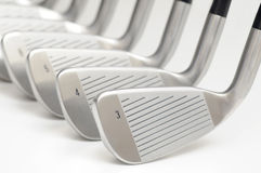 Set of golf club. Royalty Free Stock Image
