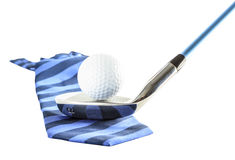 Set of golf clubs. Iron no.6,7,8 Royalty Free Stock Images